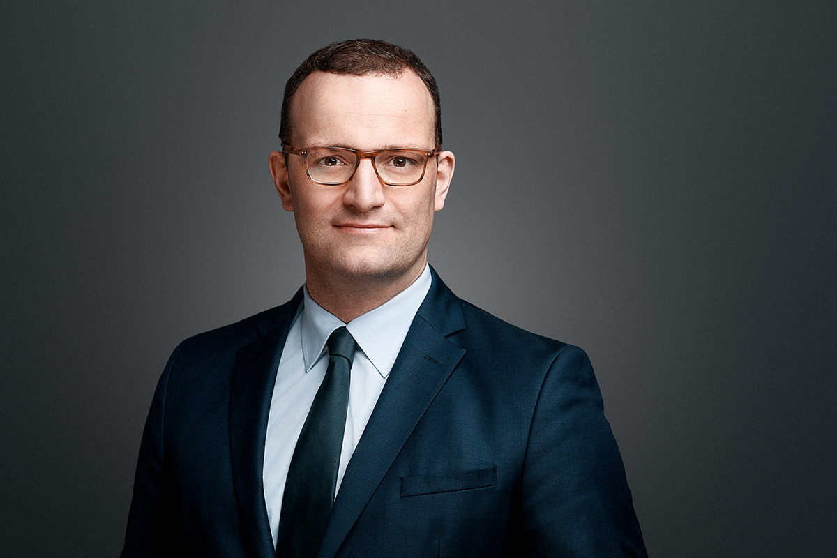 Bundesgesundheitsminister Jens Spahn im Transformation Leader Interview