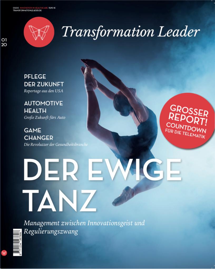 Transformation Leader Magazin Ausgabe Januar 2020